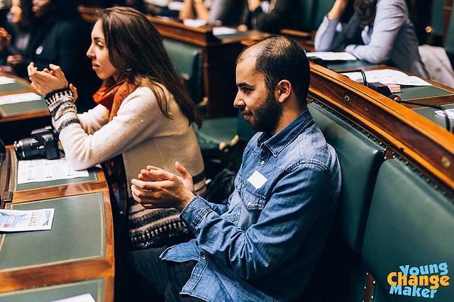 Orientation: Conférence Young Change Maker au Parlement Fédéral de Belgique