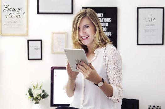 Orientation: Réussir son business digitale avec Valentine